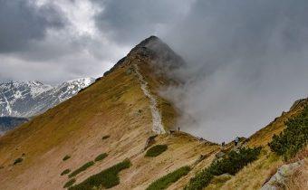 Hrebeňom Západných Tatier Autor foto: Piotr Wilk